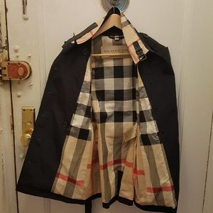 Burberry Brit as new trench coat
